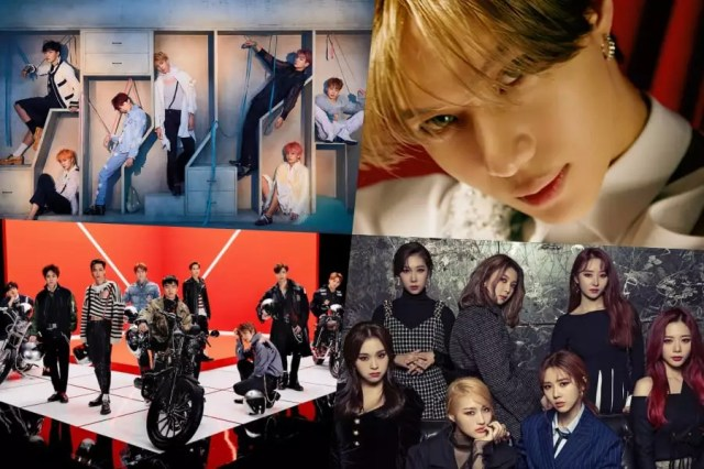 BTS, Taemin, EXO, DreamCatcher, And More Take Over Billboard's World Albums Chart