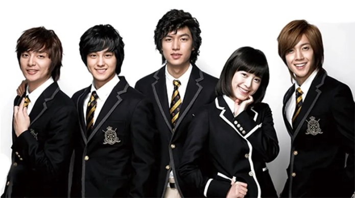 Image result for boys over flowers F4