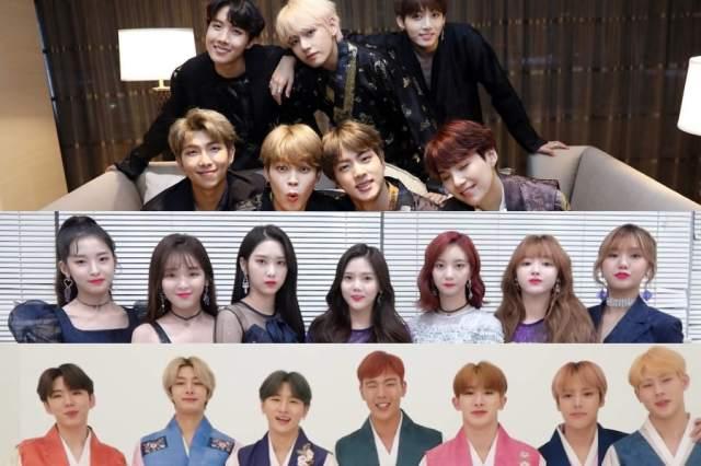 K-Pop Idols Share Chuseok 2018 Greetings
