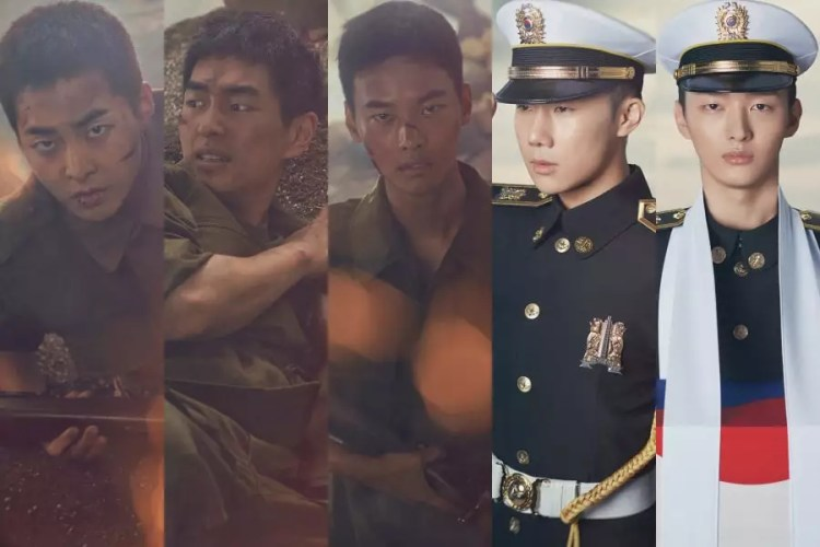 EXO's Xiumin, SHINee's Onew, VIXX's N, And More Are Devoted Soldiers In New Army Musical Posters