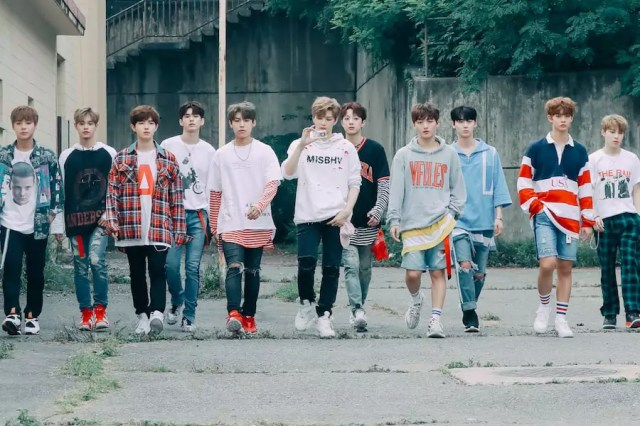 """Wanna One's """"Energetic"""" Becomes 1st K-Pop Boy Group Debut MV To Hit 100 Million Views"""
