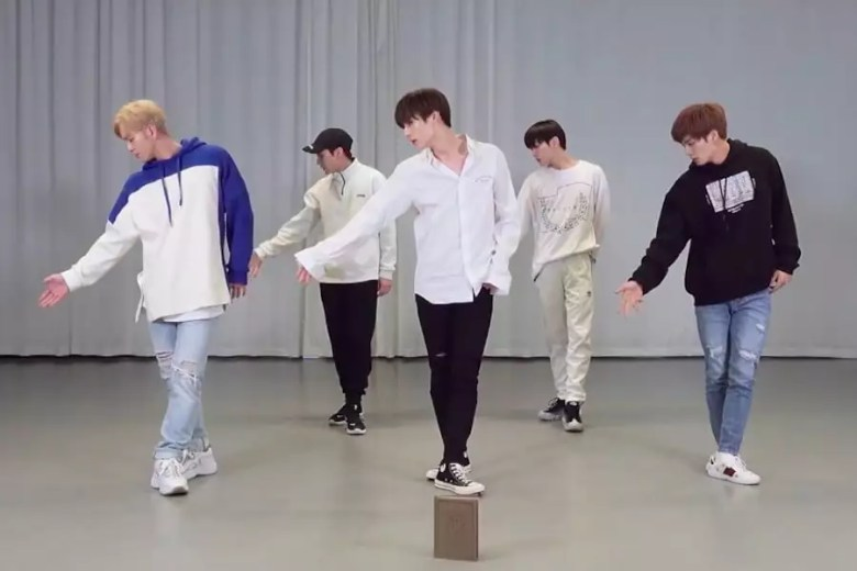 "Watch: NU'EST Wows With ""BET BET"" Choreography Video"