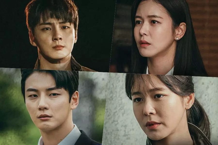 "Yoon Shi Yoon's Upcoming Drama ""Train"" Shares Look At Character  Relationships In Parallel Universes | Soompi"