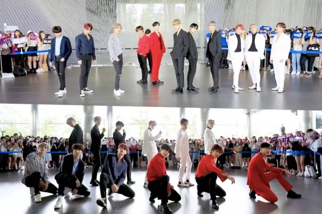 """Watch: ASTRO, SF9, The Boyz, And CIX Members Wow With Cover Of EXO's """"Love Shot"""""""