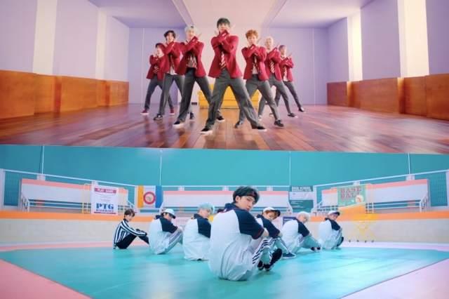"Update: PENTAGON Transforms Into Quarreling Students For ""Humph!"" MV Teaser"