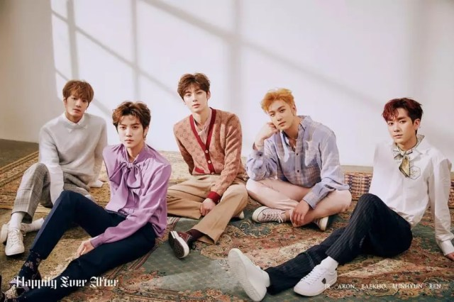 "NU'EST Tops Domestic And International Music Charts With ""Happily Ever After"""
