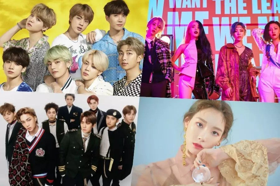 Melon Music Awards 2019 Announces Winners For Top 10 Artists
