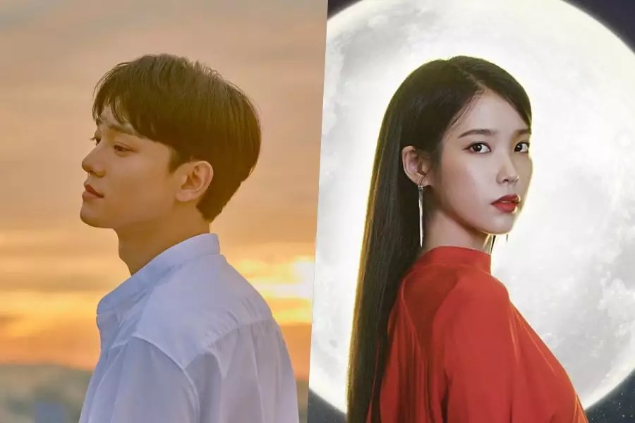 Image result for EXO's Chen Expresses Hopes To Collaborate With IU In The Future