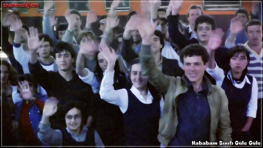 Adile Naşit,Mehmet Ali Erbil,Ayşen Gruda,İlyas Salman,Şevket Altuğ,Ertem Eğilmez,1981,Yavuz Turgul,Hababam Sınıfı Güle Güle,Hababam Sınıfı Serisi