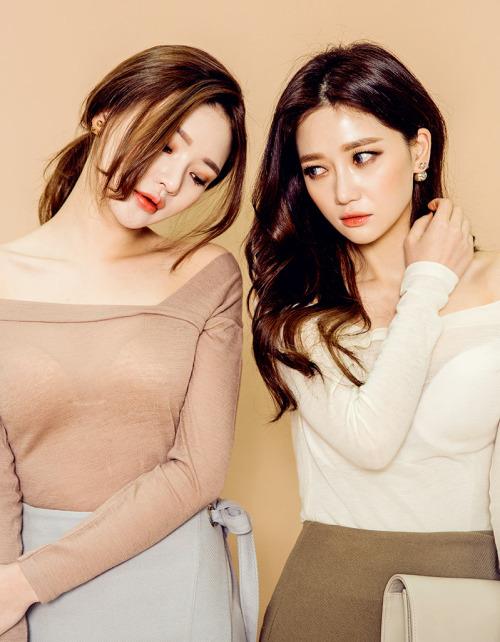 Korean Girls,Korean,Model,Dream Girls,Korean Model,Korean Girl, Sung Kyung,JinSil, Sung Kyung & JinSil,