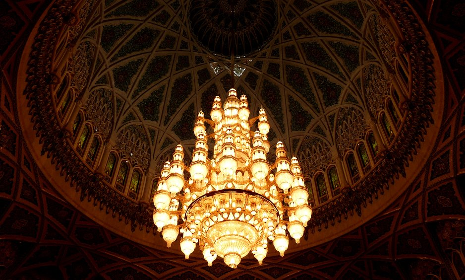 Mosque Light 6000 Miles From Civilisation