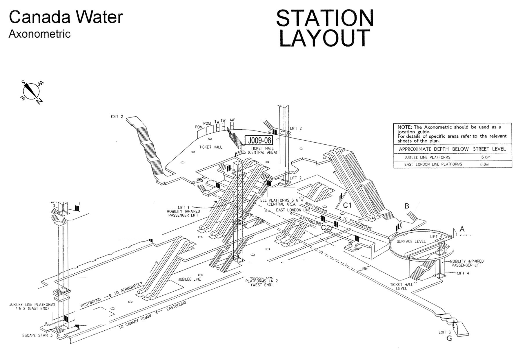 Axonometric Station Maps Miles From Civilisation