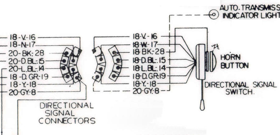 1957 Chevy Truck Turn Signal Wiring Diagram 1957 Chevy