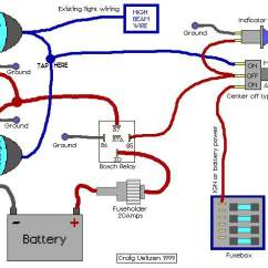 Wiring Diagram For Led Light Bar Without Relay 2006 Ford E150 Fuse Box Aux Driving Lights