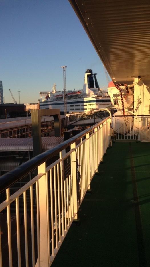 The ferry to Estonia