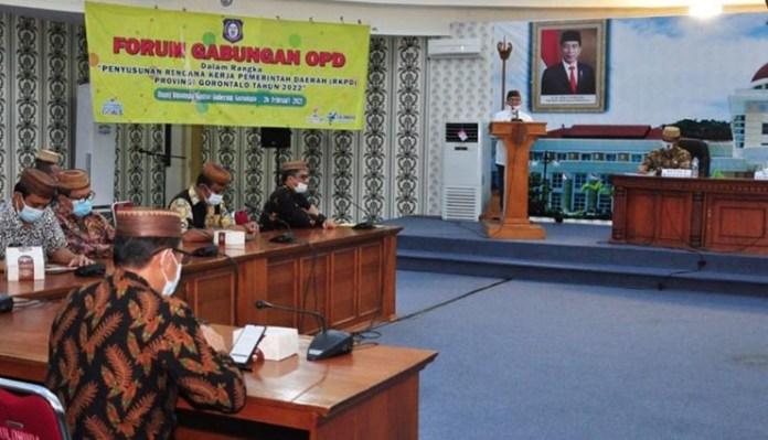 RKPD Pemerintah Provinsi Gorontalo Fokus Pencapaian Target RPJMD 2017 - 2022