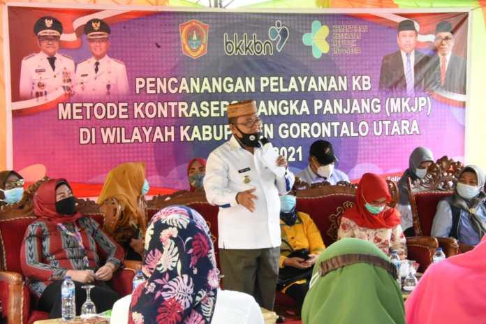 Tekan Laju Pertumbuhan Penduduk, Pemkab Gorontalo Utara Maksimalkan Program KB