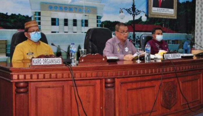 Biro Organisasi Gelar Rapat Koordinasi Penyesuaian Kelembagaan OPD