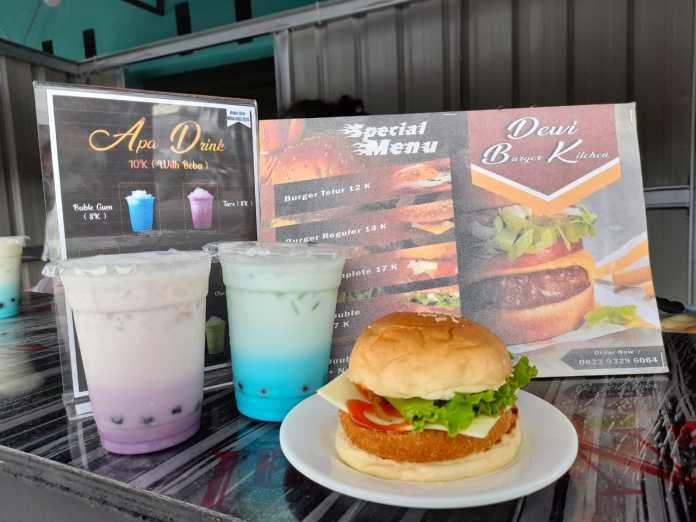 Burger yang Tersedia di Dewi Burger Kitchen