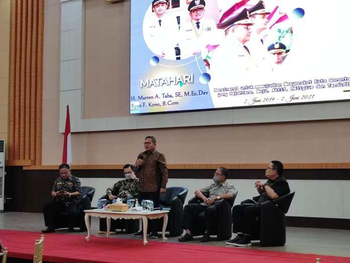 Refleksi 2 Tahun Matahari, Marten Taha Puji Kinerja Sekda Kota Gorontalo