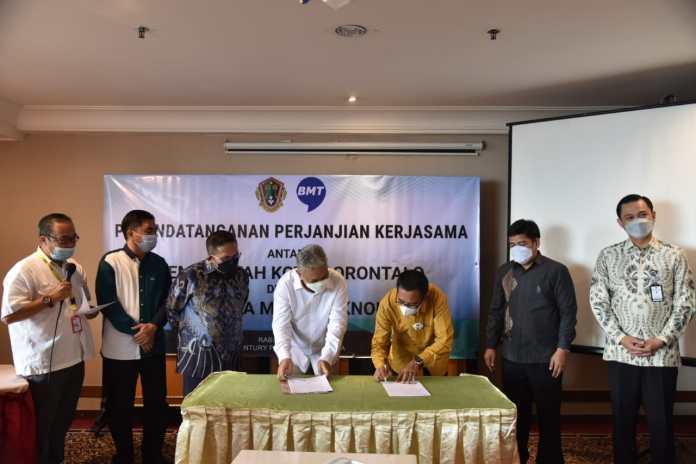 Tingkatkan PAD, Pemkot Gorontalo Gandeng PT Buana Media Teknologi