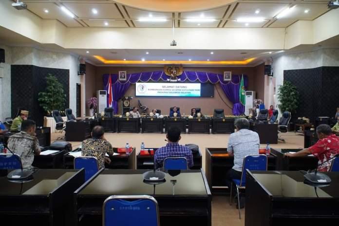 DPRD Kota Gorontalo Terima Kunjungan Wakil Rakyat Kota Parepare