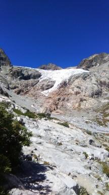 Montée vers le glacier