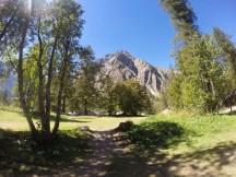 Et la vue sur les montagnes
