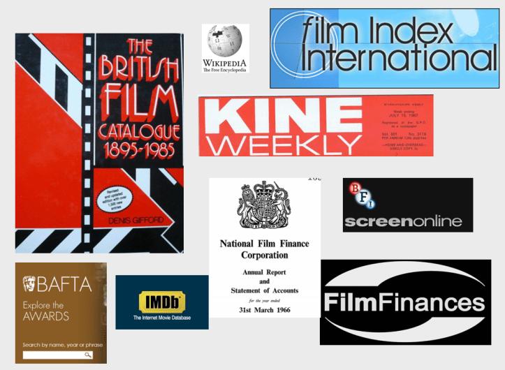 database of 1960s films