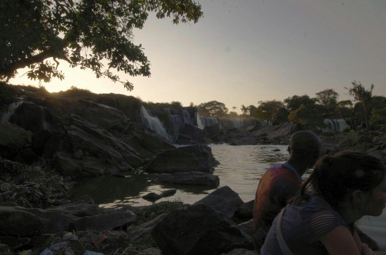 Waterfall, close to Donyo