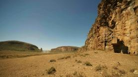 Cliffs in Hell's Gate National Park
