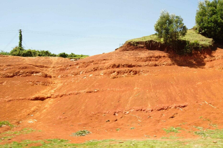 The ever-present red dust of Africa