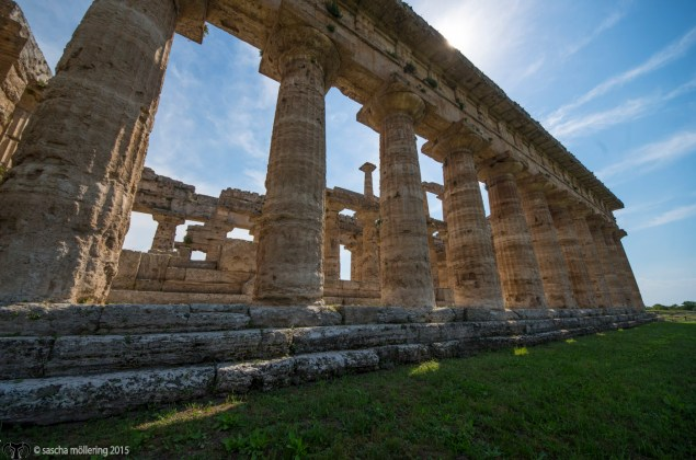 Paestum is one the biggist hellenistic settlements in Italy and the temple still awe-inducing after 2,5 millenia.