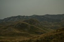 In some places the peaks of Durmitor look like folded and crumpled clothing carelessly left by untidy giants.