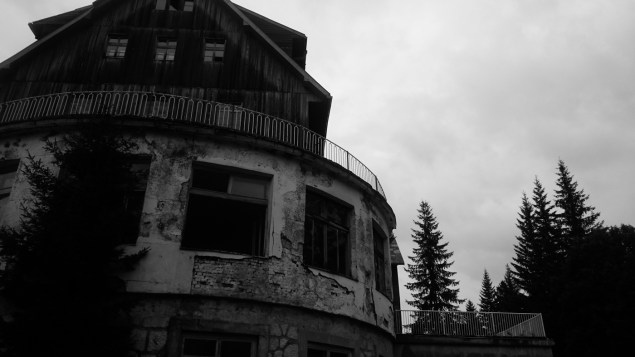 The shining anyone? Abandoned hotel in Žabljak.