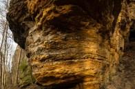 Die Vielfalt von Formen - und in diesem Fall - Farben im Elbsandsteingebirge fasziniert dauerhaft.