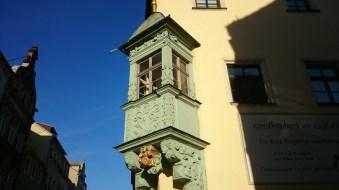 Giebel in der Altstadt von Pirna