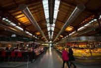 Market hall in Colmar.