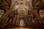 Interior of Freiburg cathedral