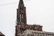 Looks like someone build himself a nice penthouse on top of Strasbourg's cathedral