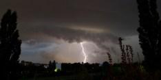 Lightning strikes in Berlin
