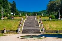 The park of Castello di Miramare