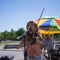 Open Air Concert in Berlin's Mauerpark