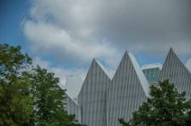 Modern architecture in Szczecin citing the old Hanse-style warehouse-buildings
