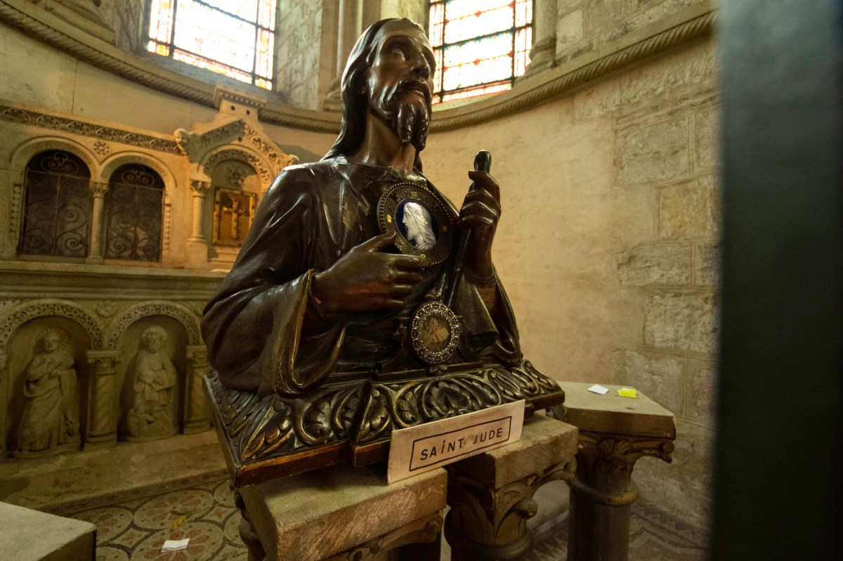 Reliquary of Saint Jude in Saint Sernin, Toulouse
