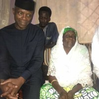 See What Acting President, OSINBAJO Was Caught Doing With Buhari's Sister In Kastina [Photos]