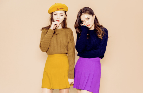 Korean Girls,Korean,Model,Dream Girls,Korean Model,Korean Girl, Sung Kyung,JinSil, Sung Kyung & JinSil,