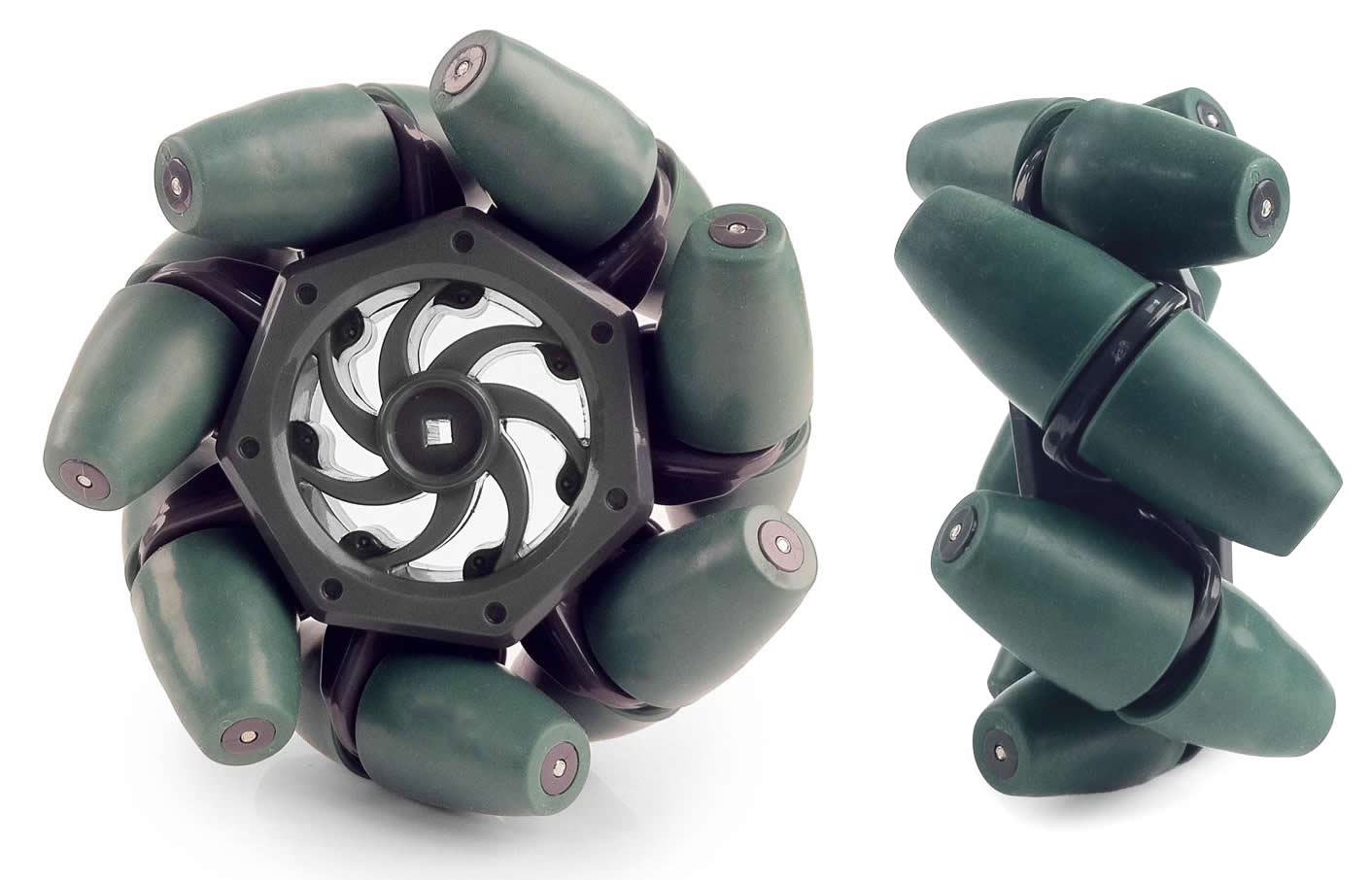 hight resolution of vex brand mecanum wheels
