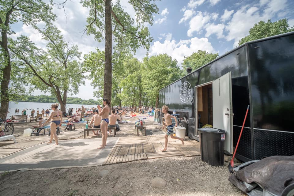 Rent the Forge Mobile Sauna for the summer