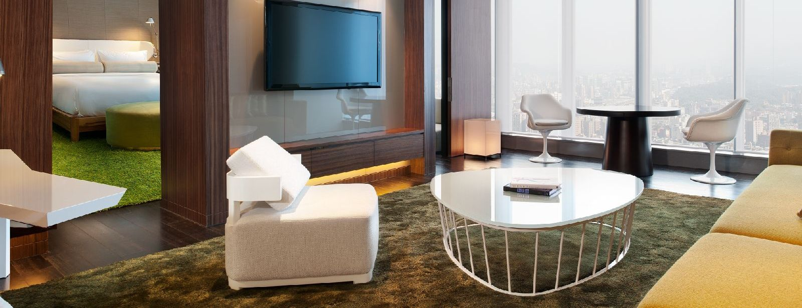 oversized chair and ottoman set coleman comfortsmart w hotels taipei: taipei | 5 star luxury hotel in marvelous suite
